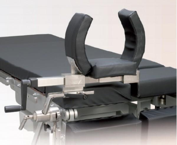 Arthroskopie Beinhalter XL, Arthroskopie Lagerung mit Knieklemme groß