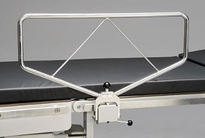 Seitengitter 2- teilig zur Befestigung am OP-Tisch