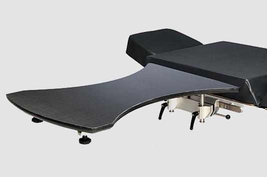 Hand OP Tisch Carbon mit Stütze