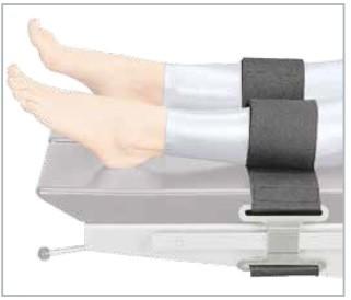 Fixierklemme für Unterschenkel