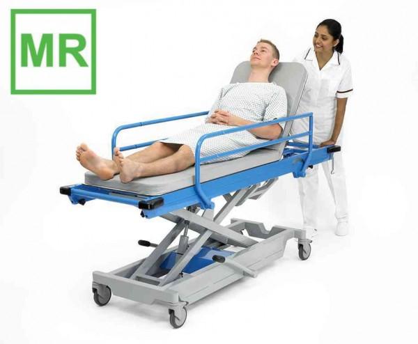 MRT Liege mit Seitensicherungen