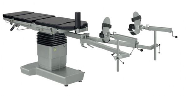 Mobiler OP-Tisch mit orthopädischer Extension