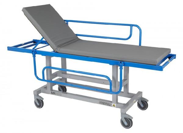 Antimagnetischer Patiententransporter für die MRT- Umgebung mit Seitengitter