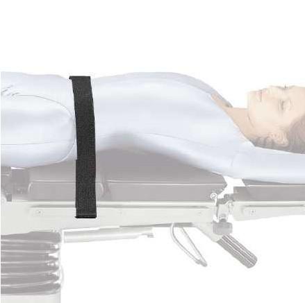 Patientensicherungsgurt für OP-Tisch, schmal
