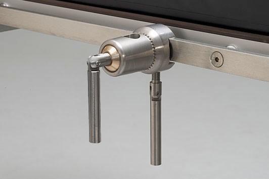 OP-Tisch-Kloben mit runder Führung bis 20 mm