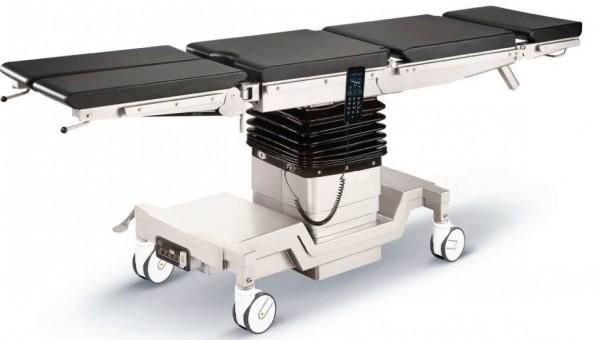 Op-Tisch stromausfallsicher mit alternativem Antrieb und 4-Segmentplatte